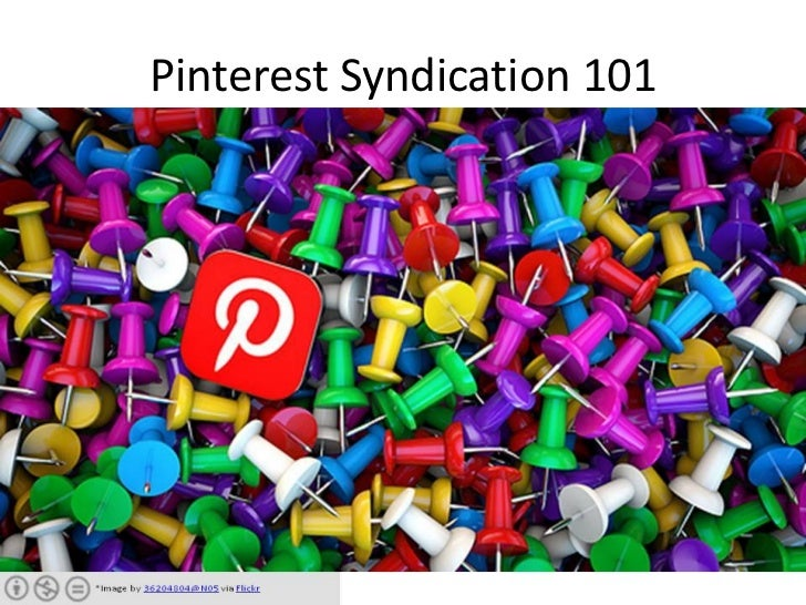 Pinterest Syndication 101