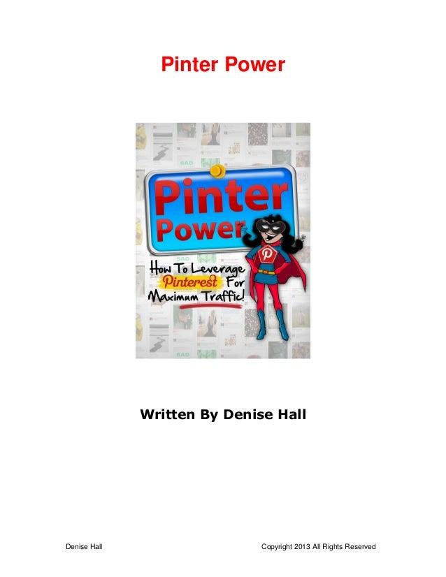 Pinter power