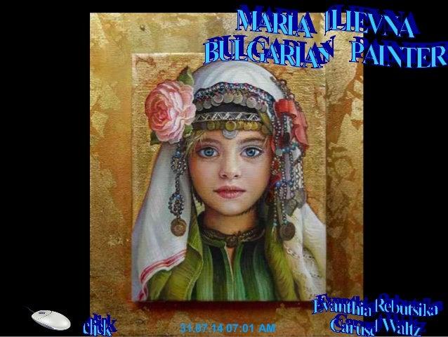 Pintores maria ilieva-pintora      búlgara