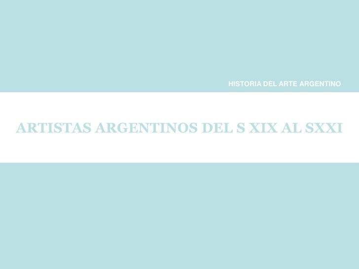 Pintores Argentino