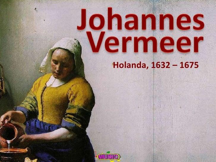 Pintores Famosos.Vermeer.EspañOl