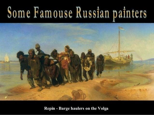 Repin - Barge haulers on the Volga