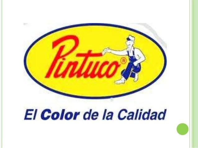 PINTUCO es la marca líderEMPRESA   del sector de pinturas en          Colombia con una experiencia          en el mercado ...