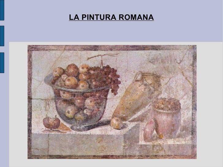 Art clàssic. La pintura romana