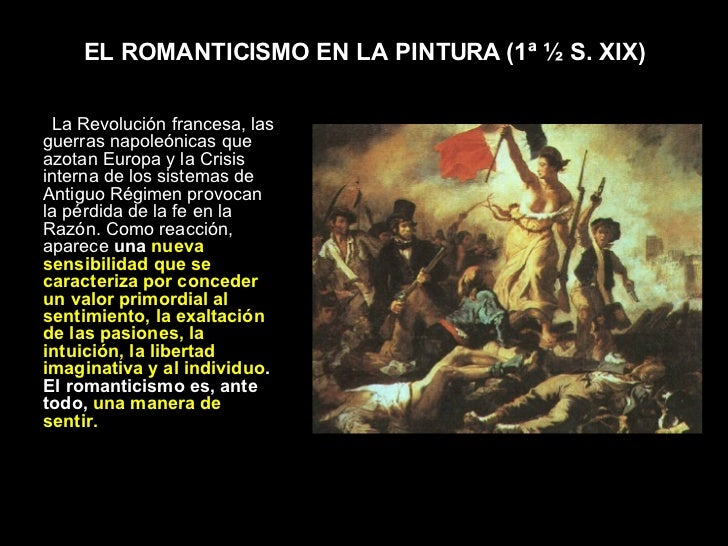 Pintura Del Romanticismo