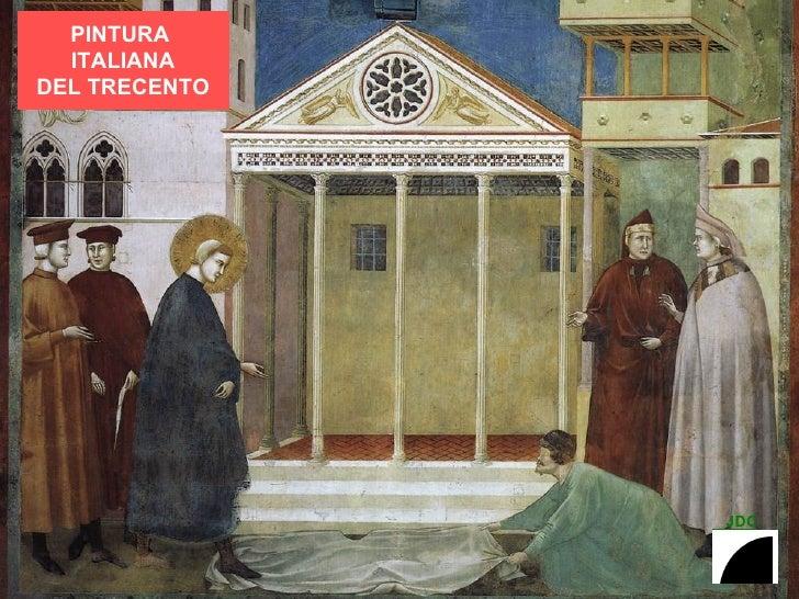 PINTURA ITALIANA DEL TRECENTO