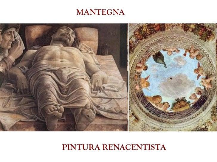 PINTURA RENACENTISTA MANTEGNA