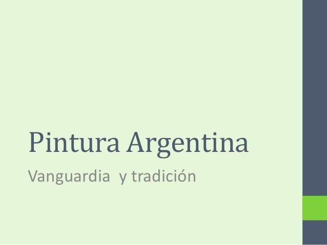 Pintura argentina (final) 2013
