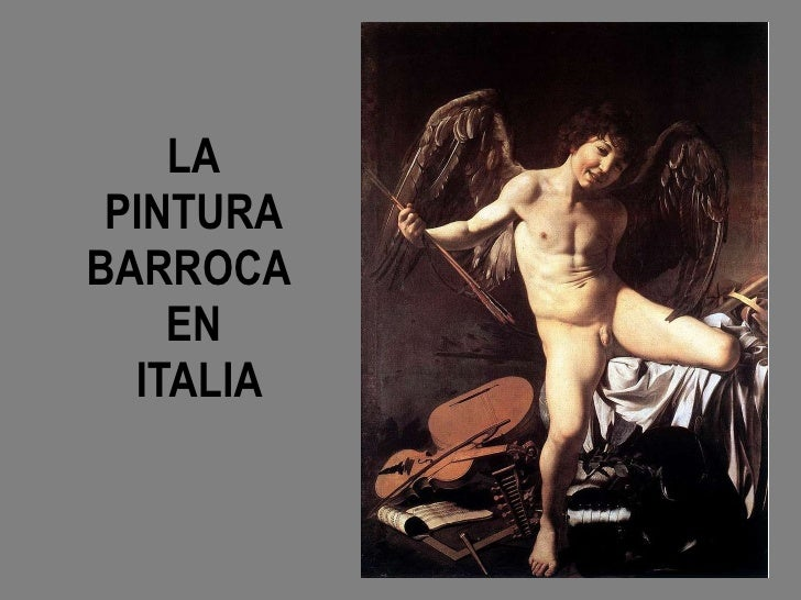 Pintura barroca en Italia