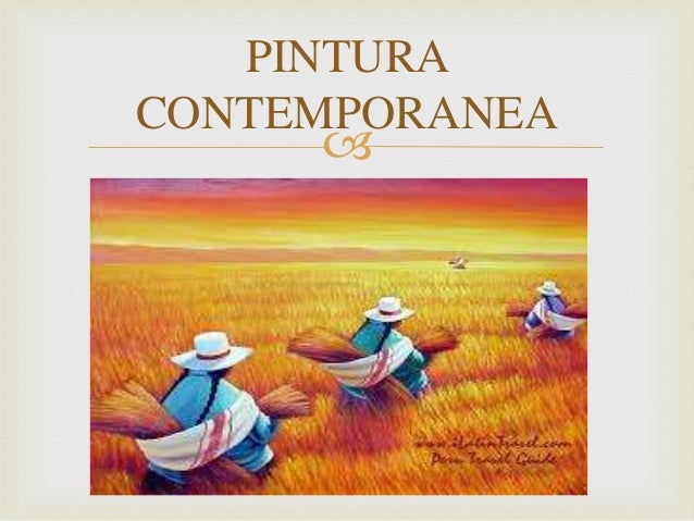 Pintura contemporanea for Imagenes de epoca contemporanea