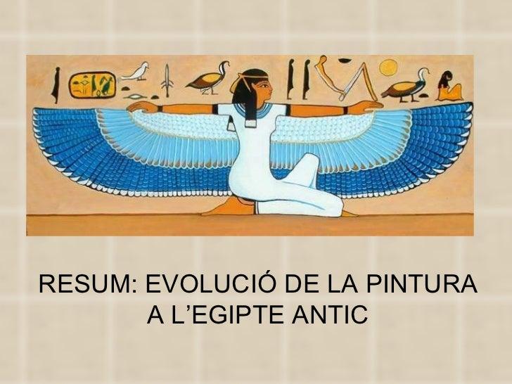 Pintura egipte