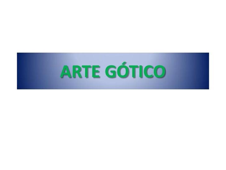 Pintura Gotica