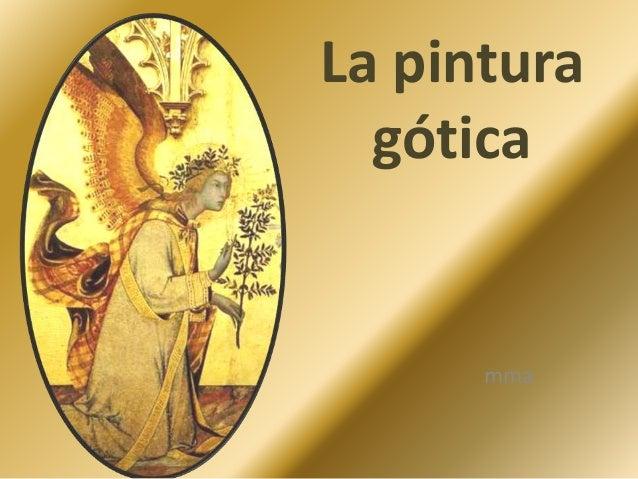 La pintura gótica mma