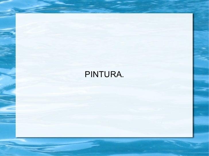 Pintura(power point)