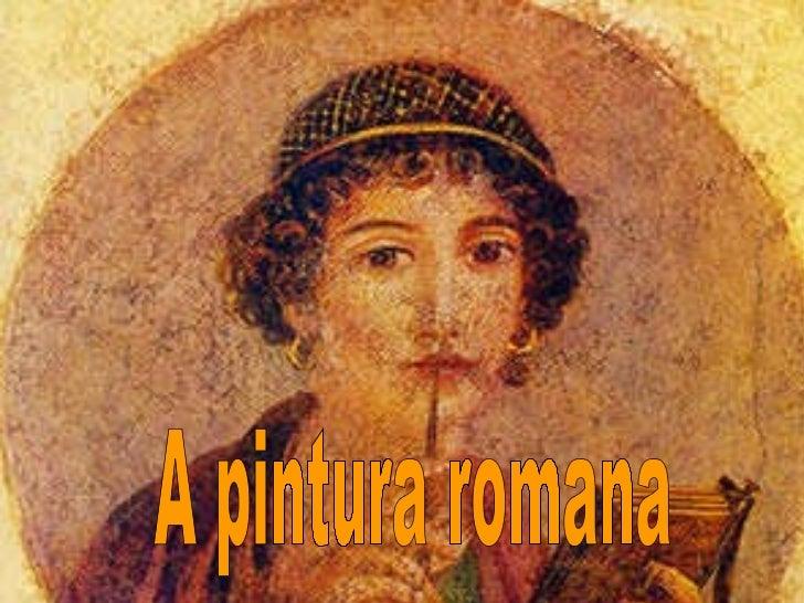 A pintura romana