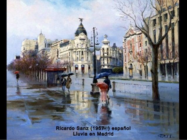Pinturas bajo la lluvia - Tableros sanz madrid ...