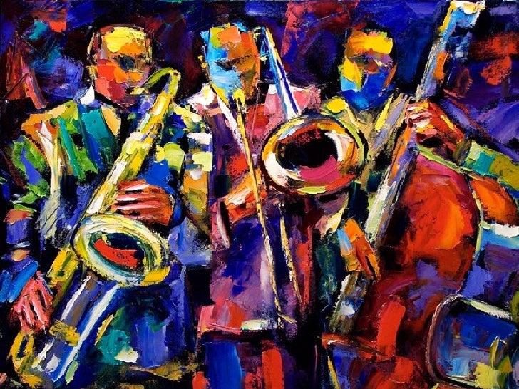 Pinturas de Jazz- By Leonid Afremov