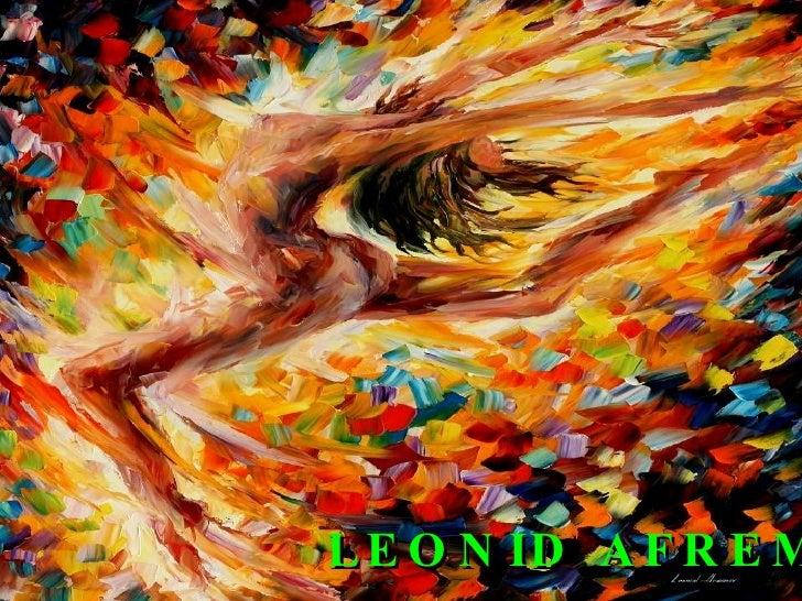 Pinturas de Leonid Afremov