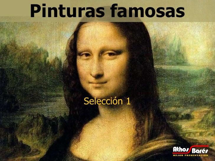 Pinturas famosas Selección 1