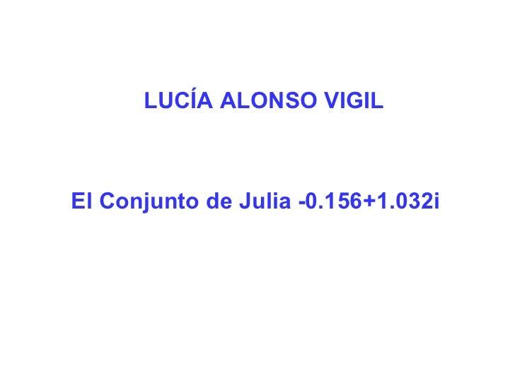 Conjuntos de Julia