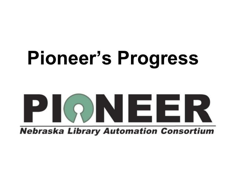 Pioneer demonstration nla nema 2011