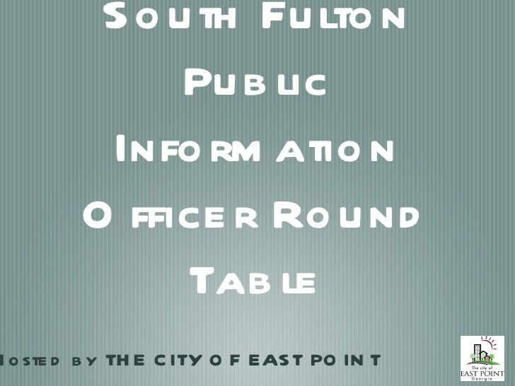 Pio roundtable 12142011