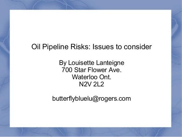Pipelinespillsprevention