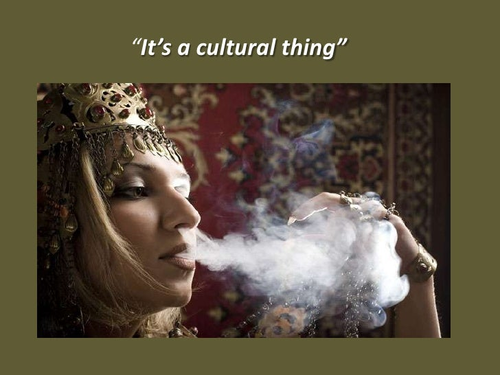 """""""It's a cultural thing"""""""