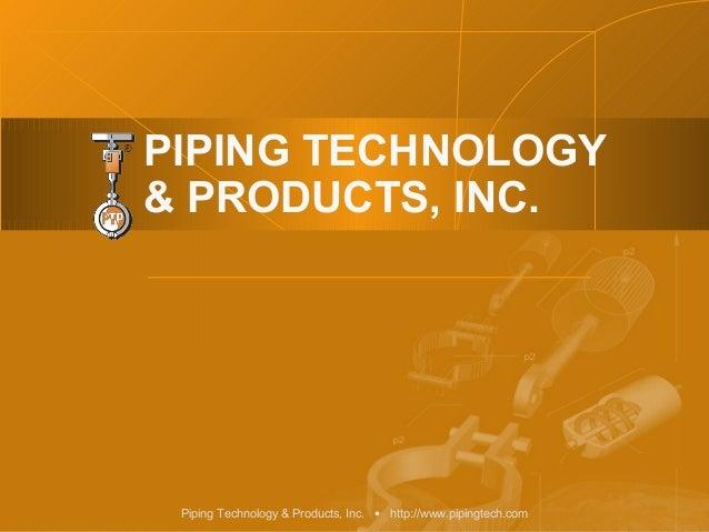 Piping tech general-fluor