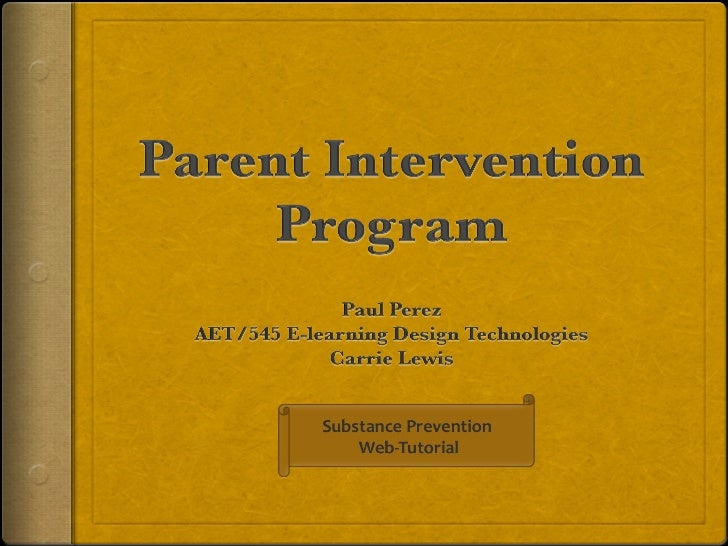 Welcome to Parent         Intervention Program (PIP)                     Web-Tutorial     PIP is positive youth and positi...