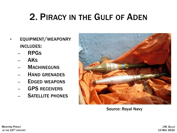 Piracy in the 21st century