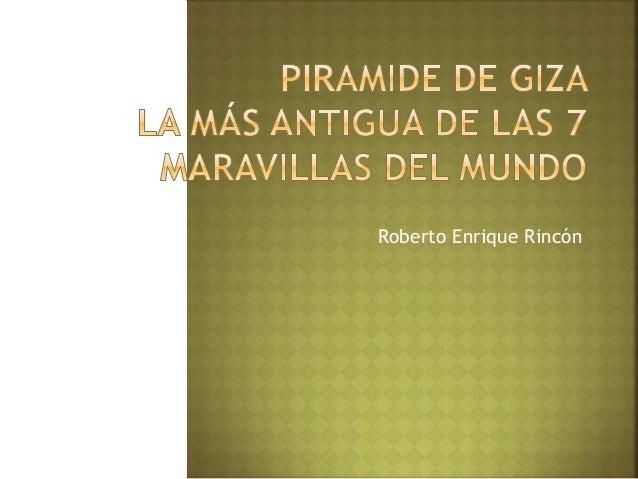 Roberto Enrique Rincón