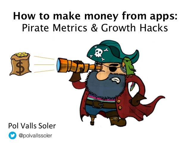 How To Make Money From Apps: Pirate metrics & growth hacking