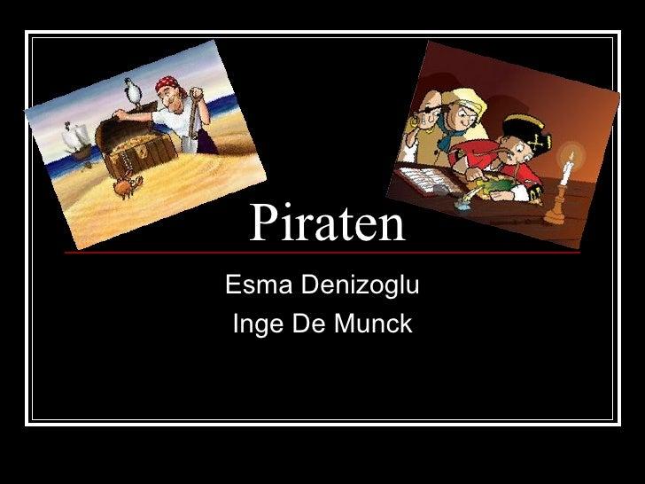 Piraten Esma Denizoglu Inge De Munck