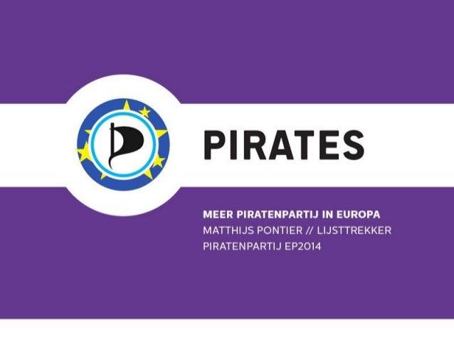 Meer Piratenpartij in Europa