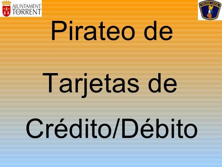 Pirateo De Tarjetas