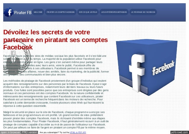 pdfcrowd.comopen in browser PRO version Are you a developer? Try out the HTML to PDF API Pirater Un Compte Facebook Rated ...