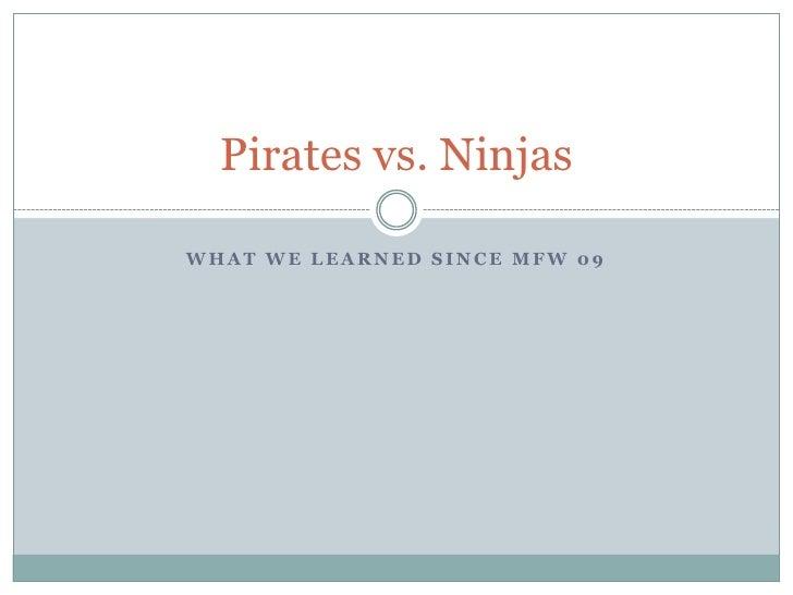 Pirates vs.-ninjas