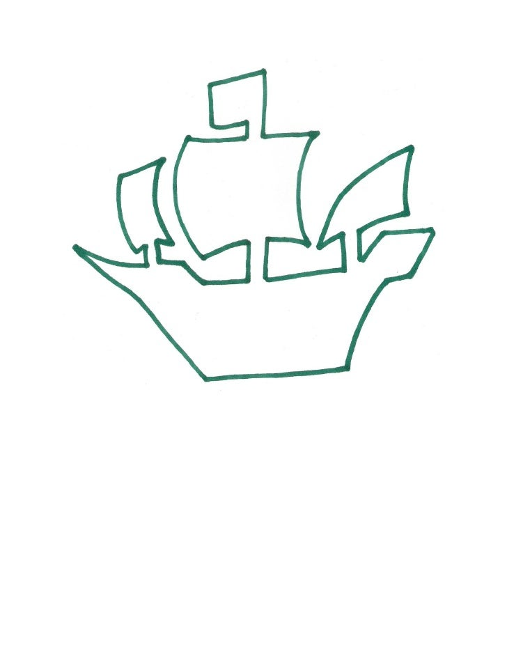Pirate ship template for Pirate ship sail template