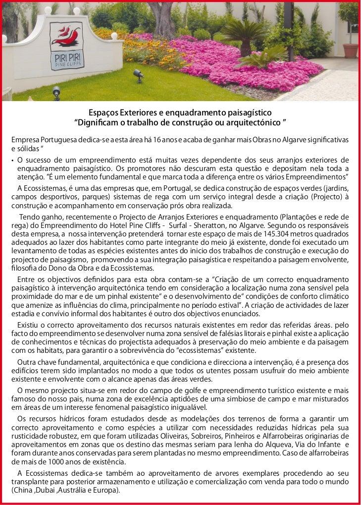 Trabalhos de Jardinagem no Algarve