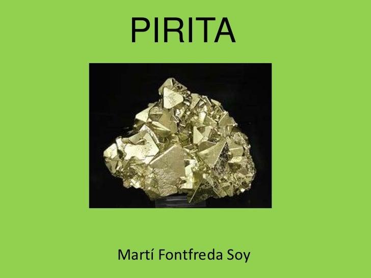 PIRITAMartí Fontfreda Soy
