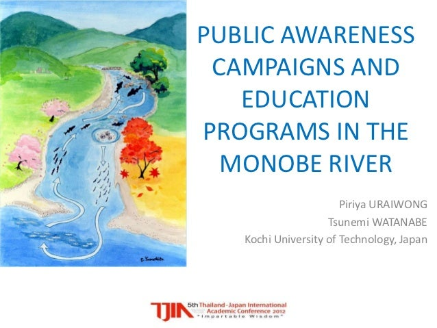 Public awareness campaigns and education programs in the Monobe River