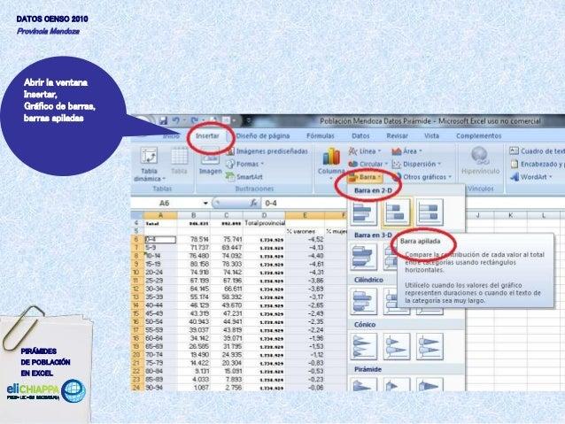 Barras Apiladas Excel de Barras Barras Apiladas