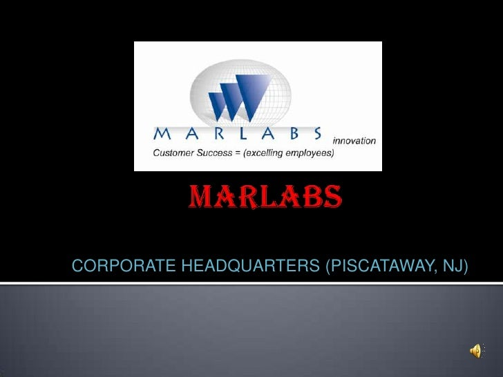 CORPORATE HEADQUARTERS (PISCATAWAY, NJ)