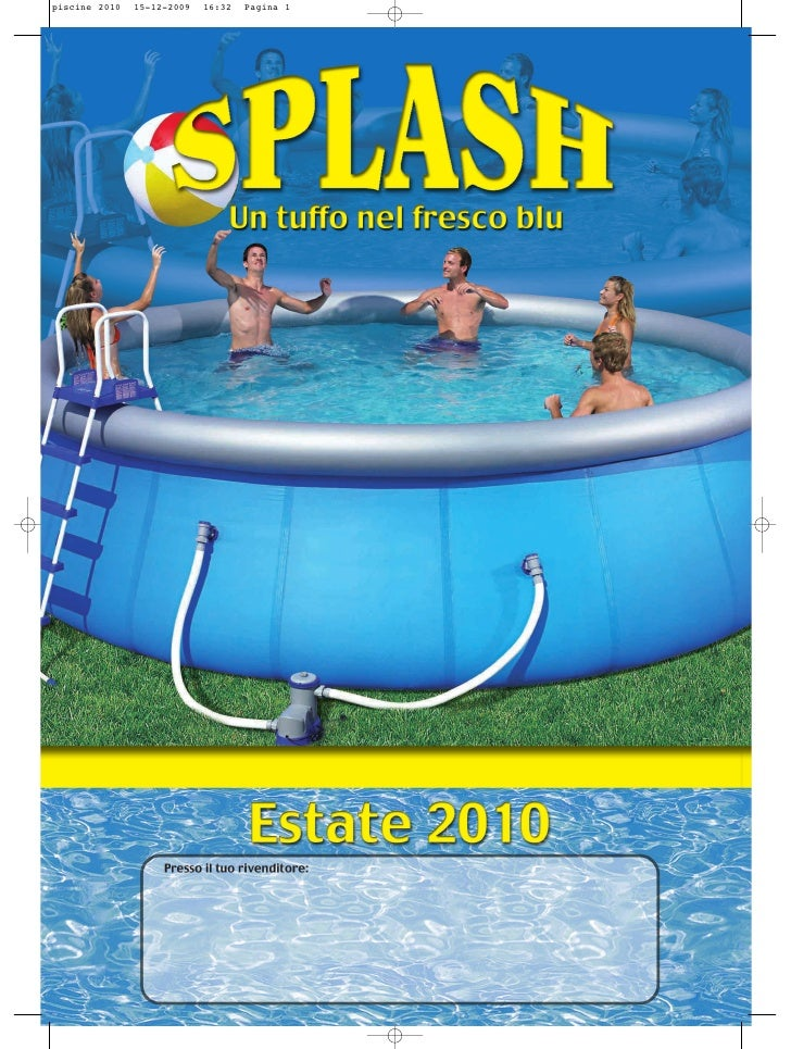 piscine 2010   15-12-2009   16:32   Pagina 1