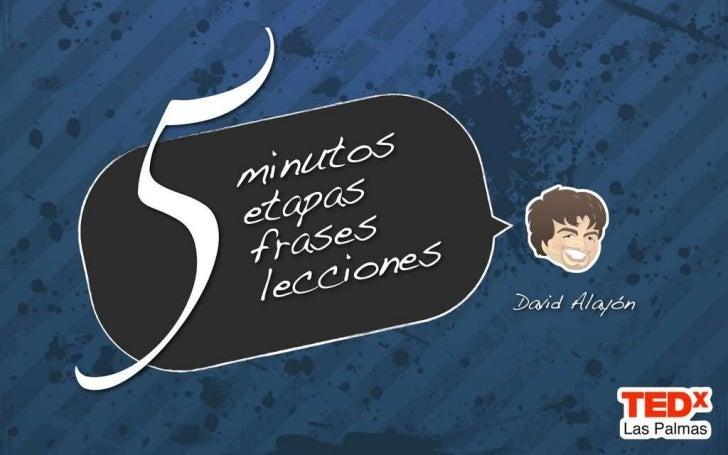 """David Alayón """"Pisito en Madrid"""" en TEDxLasPalmas"""