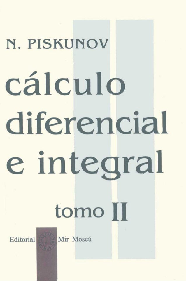 Piskunov   cálculo diferencial e integral tomo 2