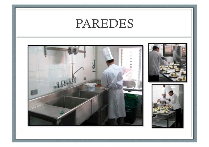 Cocinas industriales recubrimiento para pisos plaf n y - Paredes para cocina ...