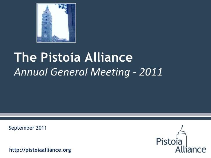 Pistoia 2011 Annual General Meeting