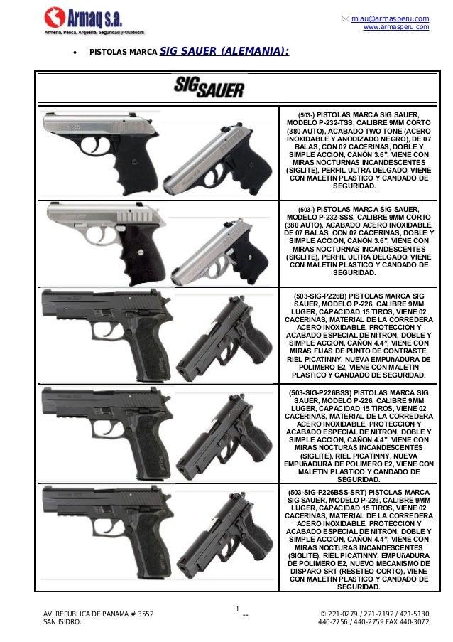 Pistolas sig sauer - Pistola para lacar ...